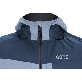 GORE WEAR C5 Gore-Tex Trail Chaqueta Capucha Hombre, deep water blue